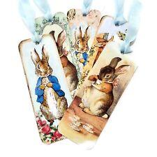 NEW Peter Rabbit  Bookmarks-Baby Shower Favours-Book Lover-School Teacher Gift