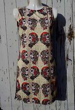 Gypsy Cráneo Vestido-Talla 8 10 12-ceñido al cuerpo de Azúcar Tatuaje Caramelo Esqueleto Wiggle