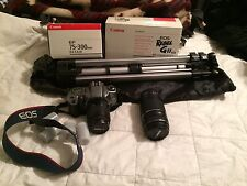 Canon EOS Rebel Gll Kit (film camera)  additional lens and tripod