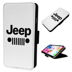 Jeep Design - Flip Phone Case Wallet Cover Fits Iphone & Samsung