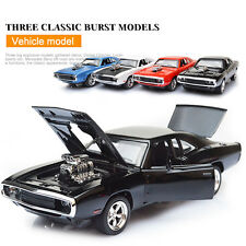 1:32 The Fast and The Furious Dodge Car Models Sound Light Open Door Kids Toy