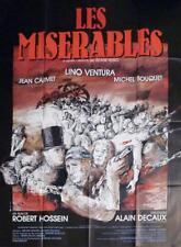 LES MISERABLES - VENTURA / VICTOR HUGO - ORIGINAL LARGE FRENCH MOVIE POSTER