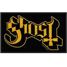 OFFICIAL LICENSED - GHOST - LOGO SEW ON PATCH METAL SWEDEN