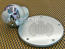 MOS Silver Alloy Aluminium Gear Knob & Tax Disc Holder