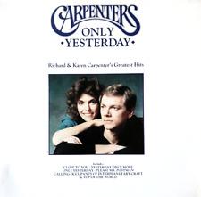 CARPENTERS - ONLY YESTERDAY: RICHARD & KAREN CARPENTER'S GREATEST HITS (LP) (VG