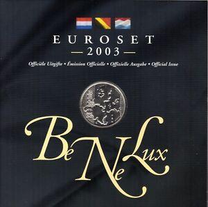COFFRET  B.U.  BENELUX  2004  1C  A  2 EURO   DANS SON ETUI