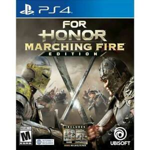 For Honor: W/Marching Fire Expansion Pack(PlayStation 4 PS4), NEW FACTORY SEALED
