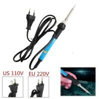 110V/220V 60W Adjustable Electric Temperature Welding Soldering Iron Tool EN