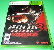Ninja Gaiden 3: Razor's Edge Microsoft Xbox 360 *Factory Sealed! *Free Shipping!