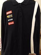 Ski-Doo Men's Long Sleeve Polo Shirt 2XL Black