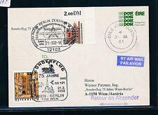 86374) lh/aua SF Berlin-Viena Austria 21.3.2002, ga a partir de Irlanda