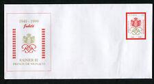 Enveloppe MONACO Entier YT n° 323 - 1297-1997 RAINIER III Neuf - Très Bon Etat