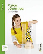 (CAT).(15).FISICA QUIMICA 3R.ESO.(SABER FER). ENVÍO URGENTE (ESPAÑA)