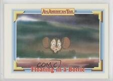 1991 Impel An American Tail: Fievel Goes West #111 Floating in a Bottle Card 0c4
