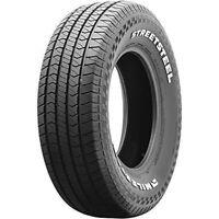 2 New Milestar StreetSteel 235/60R15 98T A/S All Season Tires