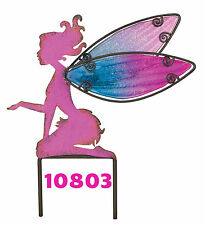 "PINK  FAIRY - Garden Stake - Size: 10.5""X.75""X11.5"" Regal Art & Gift 10801"