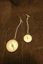 Lot Of 5 unbranded Vintage Compasses. *s41