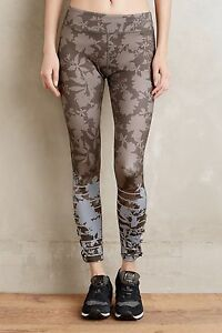 NEW Anthropologie Floreale Leggings By Pure + Good Sz. X-Small *RARE*