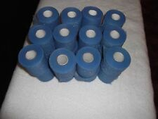 "BLUE ATHLETIC PRE-WRAP   32 rolls   2/34""x20yds.  * FIRST QUALITY *"