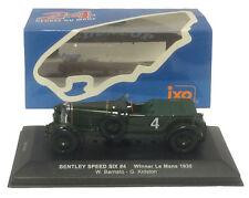 IXO LM1930 Bentley Speed Six #4 - Le Mans Winner 1930 1/43 Scale
