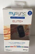MySync Wego Map My Fitness Activity Sleep Calories Tracker Elite + Bluetooth NEW