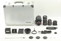 【N MINT in Case】 Mamiya M645 1000s, 55mm, 80mm f2.8, 210mm, Finder 2Set JAPAN