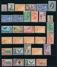 SARAWAK USED & MINT SELECTION OF 31 STAMPS, SOME DUPLICATION !! M4