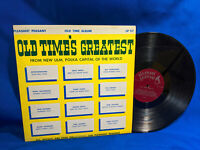 Old Time's Greatest LP V/A Pleasant Peasant 117-64 Rare Minnesota Polka