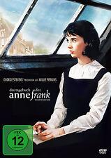 GEORGE STEVENS EL DIARIO EL Anne Frank Millie Perkin Shelly WINTERS DVD NUEVO