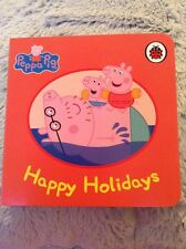 Peppa Pig Board Book Happy Holidays