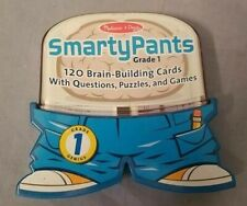 SmartyPants 1st First Grade Educational Game Cards Melissa and Doug