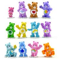 Care Bear rainbow 12pcs Action Figure Model Home Miniature Toys Gift no box