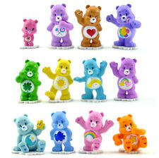 12pcs/set Care Bears Cake Topper Figurines Action Figures Boy Girl Kids Toy Gift