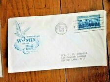 WOMEN IN THE ARMED SERVICES WACS WAVES ARMY NAVY MARINES 1952 FARNAM CACHET FDC