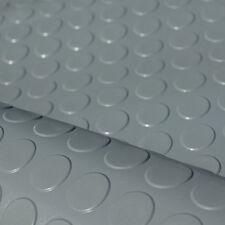 1m² Noppenmatte GRAU 1,20m x 0,83m | 3mm Stärke | Bodenbelag Gummi Gummimatte