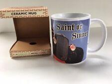 HOD Rod Voiture Rétro Classique Art Mug Céramique en Boîte Cadeau-Saint ou Pécheur