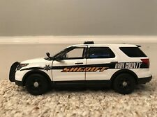 Union County Tennessee custom sheriff's diecast SUV Motormax 1:24 scale
