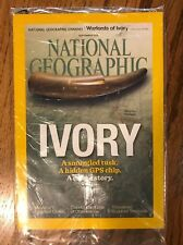 National Geographic Magazine:2015 Ivory A Smuggled Tusk*A Crime Story*NEW*