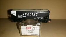 Micro-Trains N Scale 33' Twin Bay Hopper Offset Sides Reading 55490