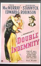Double Indemnity Oscar Academy Film Noir Program MacMurray Stanwyck Robinson