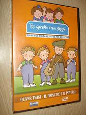 DVD TRE JUMEAUX ET UNA STREGA OLIVER TORDRE LE PRINCIPE ET LES PAUVRES