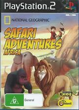 Safari Adventures Africa ! Play Station - 2 Game ! Get Ready for The Adventure.