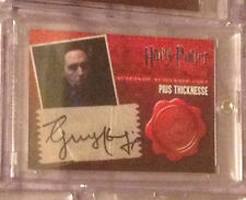 Harry Potter DH Pius Thicknesse Guy Henry Autograph Auto Trading Card Hallows