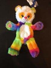 Build a Bear 16 in. Retired Pop of Color Panda Plush Toy - Unstuffed - NWT