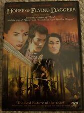 HOUSE OF FLYING DAGGERS Zhang Yimou Wu Xia (DVD, 2005) Like New