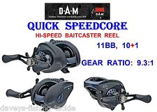 40 off Dam Quick Speedcore High Speed 9.3 1 Baitcaster Pike Reel