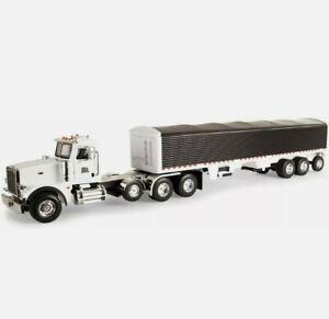Toy Grain Trailer Peterbilt Semi 367 Big Lode King Hopper Farm Truck Wilson Dcp