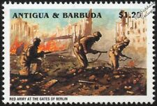 WWII 1945 Battle of Berlin - Russian/Soviet Red Army at the Gates Stamp