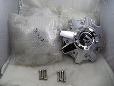 Fuel Wheels  8 Lug Chrome Wheel Center Caps Set of 4 # 1002-53, M-447  NEW!
