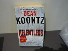 DEAN KOONTZ THRILLER - RELENTLESS - BUY ALL HIS BOOKS & COMBINE POSTAGE